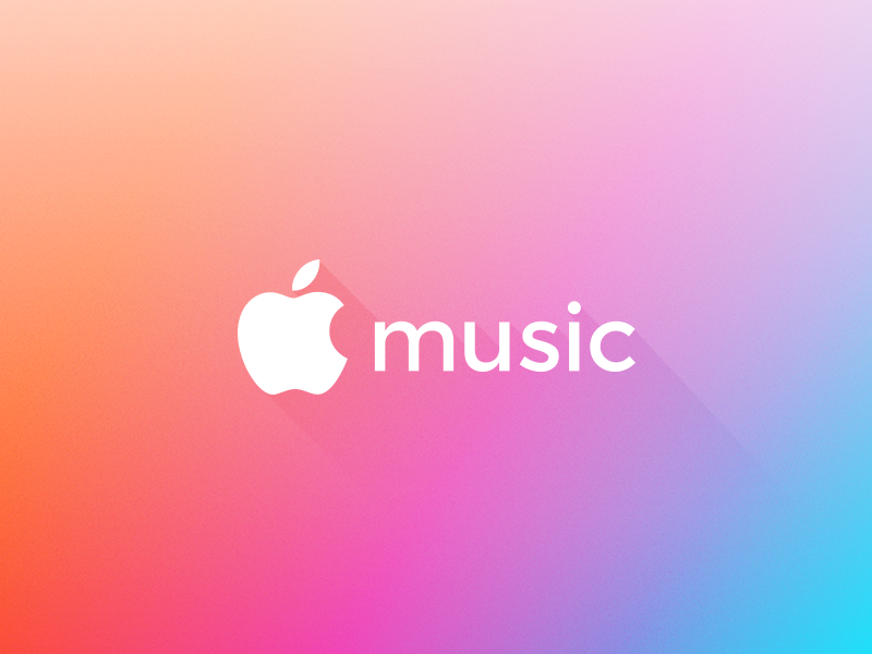Apple Music Rebrand brand branding logo rebrand apple music apple