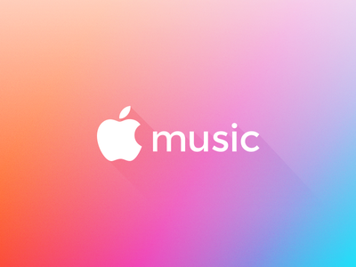 Apple Music Rebrand brand branding logo rebrand apple music apple