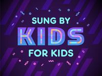 Kidz Bop pop music gradient logo neon singing pop music dance icon icons kidz bop kids kidzbop