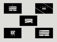 """""""R"""" Resistance flag concepts"""