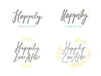 Brush Lettering Logos