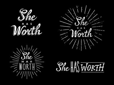 Logo and type logo type typography hand lettering script line bursts light rays font lettering branding identity