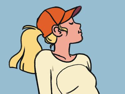 081118 doodle woman illustration