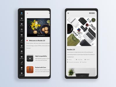 Reside 2.0 | Mobile Site Template & Google AMP