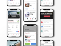 Sticky Mobile 3.0 | E-Commerce Ready Pages review timeline online shop actions store checkout page mobile ui tracking page modal box footer menu product page invoice design cart design shopping cart ecommerce shop ecommerce design cms ecommerce