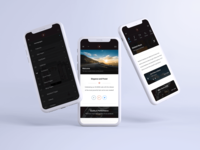 Fast Mobile | Mobile Site Template app mobile website ios android javascript css ux ui html light ui dark ui menu design sidebar menu music ui slider design header site template mobile uiux mobile ui mobile