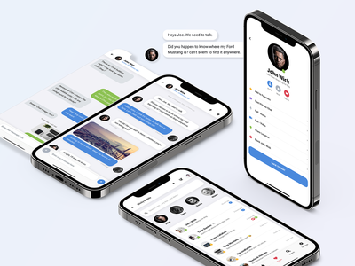 Sticky Mobile   Bootstrap Based Mobile Kit & PWA settings page group chat groups chat bubble deisgn chat bubbles profile page search chat list dailyui uiux ux mobile website app template chat app chat ui iphone android ios mobile