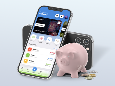 PayApp - Wallet, Banking & Finance PWA Mobile Template css html bootstrap frosted glass effect cards cryptocurrency crypto money money app app ux app ui app banking app personal finance wallet app wallet banking finance mobile pay app