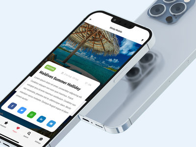 Sticky - Mobile Kit & PWA Template for Travel management content article design booking app booking website holiday vacation travel mobile website travel website travel page travel app travel design sidebar app ui iphone ios android mobile