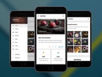 AMP Material  | Google AMP Mobile Template