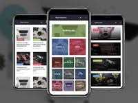 Appeca | PhoneGap & Cordova Mobile App