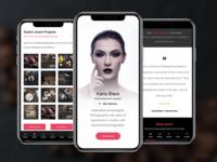 Profile Mobile | Mobile Template