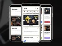 Boldr (2.0) Mobile | Mobile Template