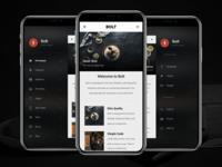 Bolt 3D   HTML Mobile Website Template