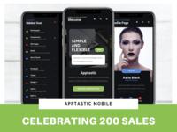 Apptastic Mobile   Celebrating 200 Sales!