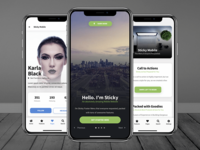 Sticky Mobile | Premium Mobile Template