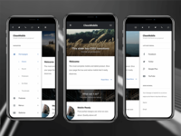 Clean Mobile | Mobile Website Template