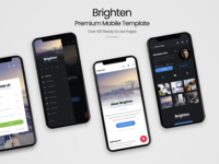 Brighten Mobile | Premium Mobile Template