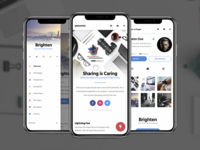 Brighten | PhoneGap & Cordova App Template