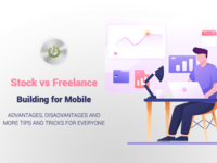 Stock Items vs Freelance Projects | The Difference