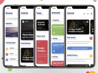 Asterial Mobile | The Ultimate Mobile Template