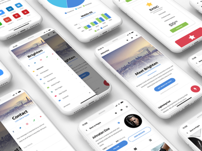 Brighten Mobile | Mobile Template & PWA
