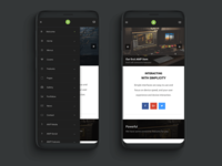 AMP Pro | Google AMP Website Template