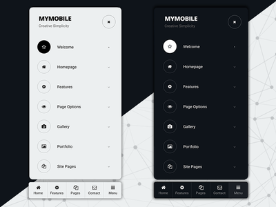 My Mobile   Mobile Website Template