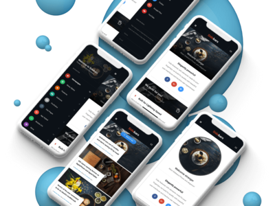 Sidebars 3D | Mobile Website Template