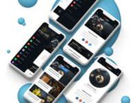 Sidebars 3D | Mobile Website Template