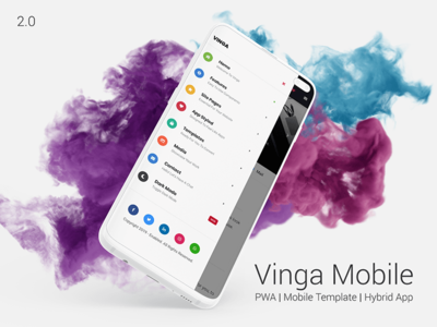 Vinga 2.0   Web App Kit