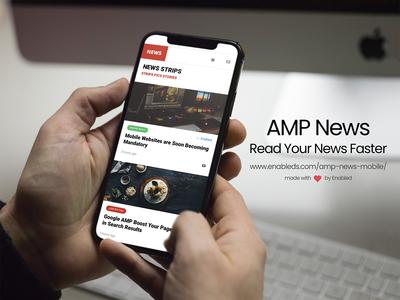 AMP News | Google AMP Template