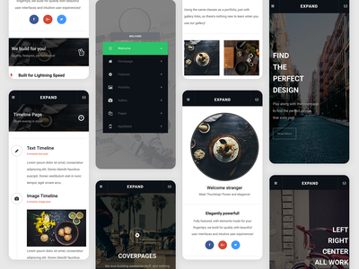 Expand | Mobile Site Template