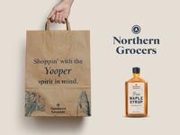 Grocery Packaging - Sharpen Challenge branding logo illustrator packaging