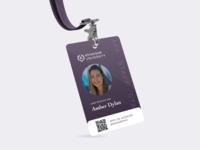 College Name Badge - Sharpen Challenge badge id name badge name tag design