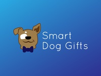 Smart Dog Gifts Logo Sample