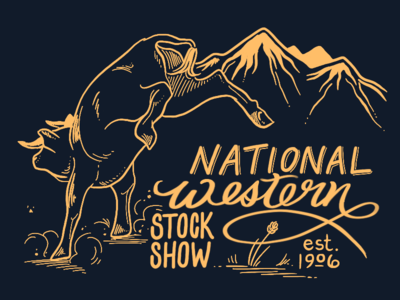 National Western Stock Show 2020 digital drawing drawing procreate illustration