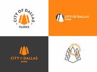 Dallas Parks logos