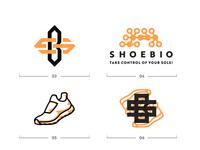 ShoeBio logo exlporation