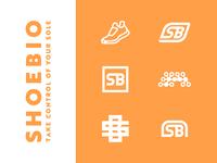 ShoeBio logo directions