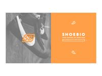 ShoeBio homepage concept