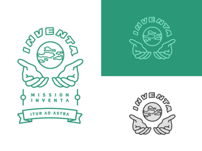 Inventa logo/mission patch