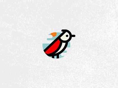 Picto Wangeler colorisé graphisme suisse swiss brand pictogramme logo icon oiseau bird
