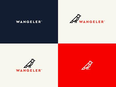 Wangeler variantes graphisme suisse swiss brand pictogramme logo icon oiseau bird