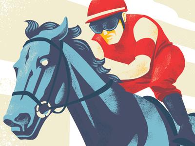 Home Stretch kentucky derby horse race jockey horse