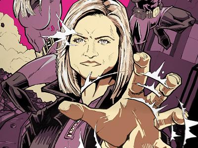 Boss Day heros super telekenesis boss