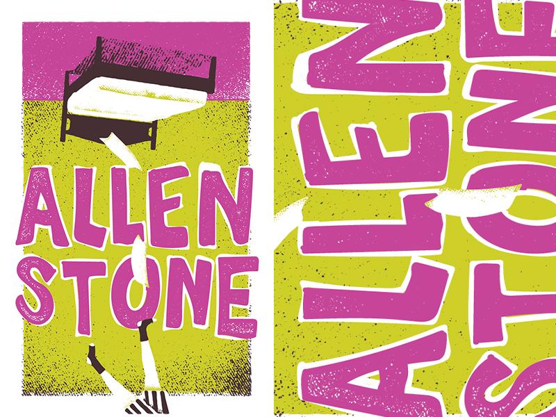 Allen Stone drawers socks falling bed allen stone