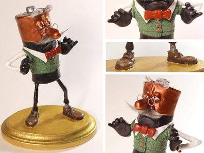 Old Man Coppertop Sculpture