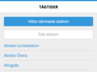 Tågtider v3 web button geolocation search list