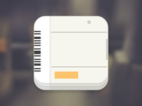 Train Ticket App Icon app travel rail ticket train flat icon draft